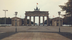 Brandenburg Gate from East Berlin
