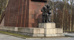 Soviet War Memorial to the sacrifice in the Battle of Berlin